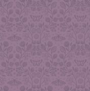 Lewis & Irene - Winter Garden - 6205 - Winter Floral Tone-on-Tone, Purple - A319.2 - Cotton Fabric